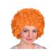 Afro - Peruecke orange