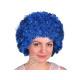 Afro - Wig dark blue