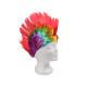 I capelli corti parrucche con Mohawk taglio di cap