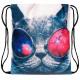 Rugzak tas kat met een bril