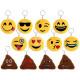 Portachiavi Ordinamento Emoji Con Ø 7 centimetri (