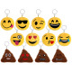 Keychains Sorting Emoji Con Ø 7cm (