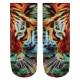 Motif socks Tiger multicolor
