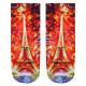 Motif socks Eifelturm multicolor