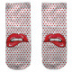 Motive socks white mouth points