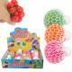 Squishy Mesh Squeeze Balls Gel Display 12 Pieces