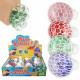 Squishy Mesh Squeeze Balls Glitter Display