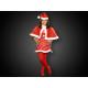 WK-70 sweet Christmas costume for girls 3-5 years