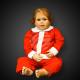 WK-96 kerst kostuum voor jongens-2-sectie zonder k