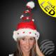 WM-16 Weihnachtsmützen spiraal bont 5 Light Star