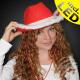 Christmas red cowboy hat meters. Fur trim & Le
