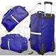 Trolley bag blue Amsterdam