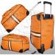 Trolley bag orange Amsterdam