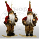 Santa Claus 18cm on snowboard - Christmas decorati