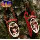 De decoratie van Kerstmis slee