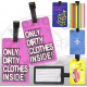 Luggage tag / address label double pack