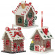 Christmas tree decorations gingerbread house 7cm