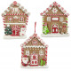 Christmas tree decorations gingerbread house 11cm