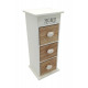 Wooden mini chest 12,5x12x30,5cm
