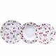 CUISINE - 18 pièces de vaisselle en porcelaine
