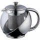 Kitchen - KETTLE STAINLESS STEEL AND GLASS
