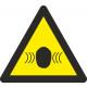 Driehoekige kleefstofveiligheidsruis 90 mm zijde
