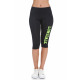 LONSDALE - Leggins Lonsdale - Black/yellow fluo