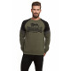 LONSDALE - Sudadera Lonsdale - Army/black