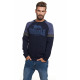 LONSDALE - Sweat Lonsdale - Real navy / avio