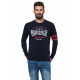 LONSDALE - Lonsdale T-shirt - Real navy