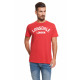 LONSDALE - Camiseta Lonsdale - True red