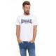 LONSDALE - Lonsdale T-shirt - Wit / echte marine