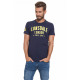 LONSDALE - T-shirt Lonsdale - Vraie marine