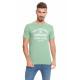 LONSDALE - Lonsdale T-Shirt - Hellgrünes Melang
