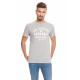 LONSDALE - Lonsdale T-Shirt - Hellgrau meliert