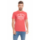 LONSDALE - Lonsdale T-Shirt - Rot meliert