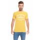 LONSDALE - Lonsdale T-Shirt - Gelbe Melange
