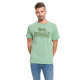 LONSDALE - Lonsdale T-shirt - Light green melang