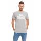 LONSDALE - T-shirt Lonsdale - Gris clair chiné