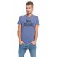 LONSDALE - Lonsdale T-shirt - Light navy melange