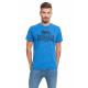 LONSDALE - Lonsdale T-Shirt - Royal Melange