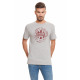 LONSDALE - Camiseta Lonsdale - Light grey melange