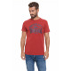 LONSDALE - Lonsdale T-shirt - Dark red