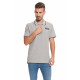 LONSDALE - Polo Lonsdale - Light gray melange