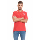 LONSDALE - Polo Lonsdale - True red