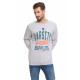 VARSITY - Athletic Supplies Sweatshirt - Gray heat