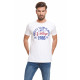 VARSITY - Vintage T-shirt - White