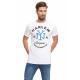 VARSITY - T-shirt Harlem - Blanc