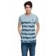 VARSITY - Camiseta VARSITY HERITAGE - Blue melange