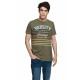 VARSITY - VARSITY HERITAGE T-shirt - Army